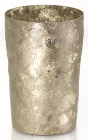画像1: 純チタン製二重タンブラー 窯創り ライト ゴールド