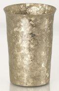 純チタン製二重タンブラー 窯創り 広口小 ゴールド