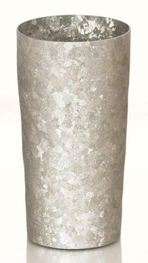 画像1: 純チタン製二重タンブラー 窯創り プレミアム シルバー