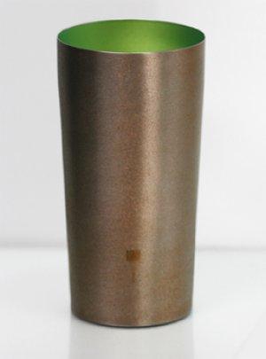 画像1: 純チタン製二重タンブラー 然 プレミアム 萌木
