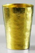 純チタン二重タンブラー 玲 和み  黄金