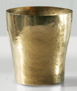 画像1: 純チタン二重タンブラー 玲 華チタン  琥珀